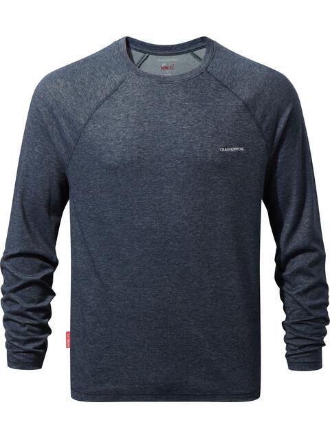 Craghoppers NosiLife Bayame Longsleeve Shirt Men Soft Navy Marl